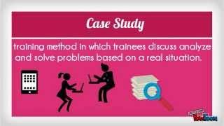 Training & Development- Off The Job Instructional Methods