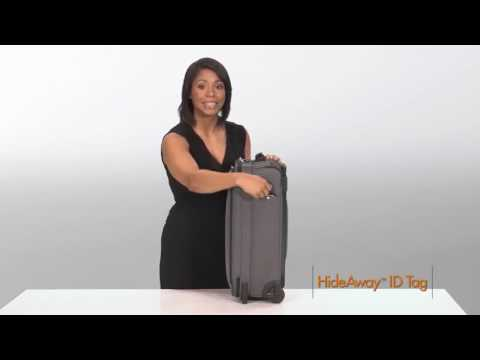 Explore The Feature Packed Briggs & Riley Transcend VX Tall 22 Carry-On Expandable Upright Luggage