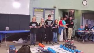 Middle School Excellence Award at the Fox Rocks VEX IQ Challenge, February 25, 2017
