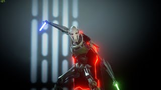 Grievous with a cape-Frontend only