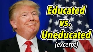 God Works with the Uneducated More Easily Than With the Educated & Prideful (Church EXCERPT, Jan 28)