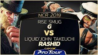 RISE Smug (G/Balrog) vs Liquid`John Takeuchi (Rashid) - NCR 2019 - Top 8 - CPT 2019