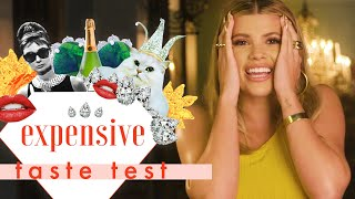 We Fully Broke Sofia Richie with a $9 Pair of Hoop Earrings | Expensive Taste Test | Cosmo
