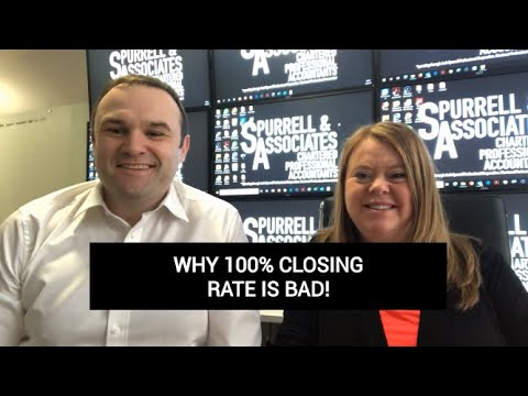 Edmonton Business Consultant | Why A 100% Closing Rate Is Bad