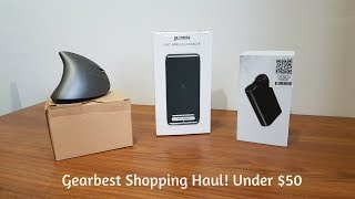 Gearbest Shopping Haul: Under $50 Electronic Accessories!