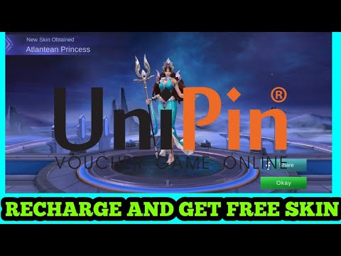 UNIPIN RECHARGE : TO GET FREE SKIN