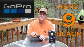 GoPro Hero 9 Black Review. Opening box and reviewing the basics of this camera.