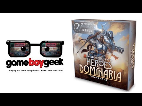 Magic the Gathering: Heroes of Dominaria Review with the Game Boy Geek