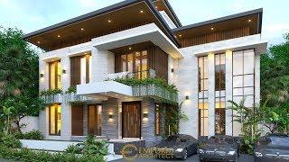 Video Desain Kost Modern 2 Lantai Ibu Ristina di  Palembang
