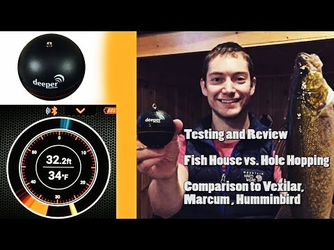 Deeper Fish Finder Review! Ice Fishing Sonar