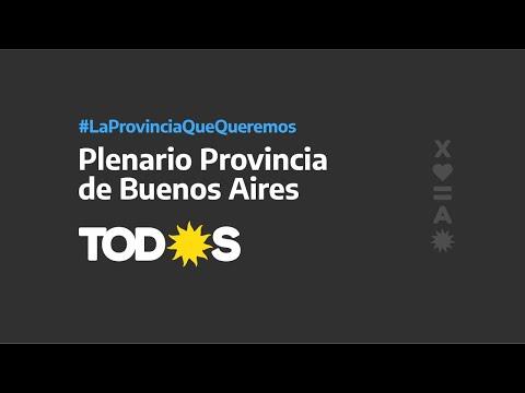 Plenario del Frente de TOD☀️S de la Provincia de Buenos Aires.