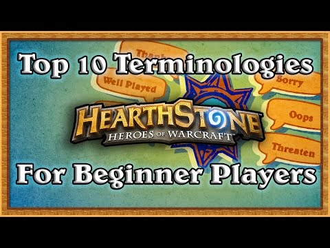 Hearthstone: 10 Important Terms You Should Know!