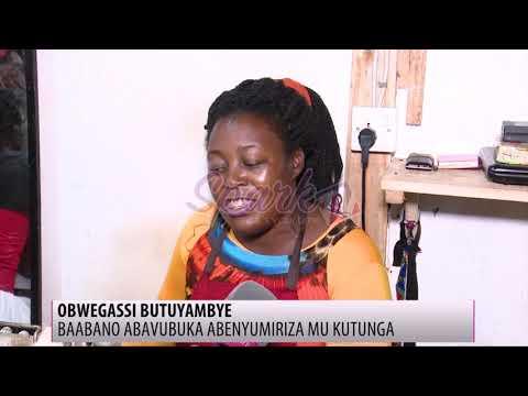 Okwejja mu bwaavu; Baabano abavubuka abatunga engoye ku Ham Towers