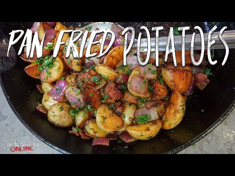 Pan Fried Potatoes | SAM THE COOKING GUY