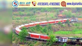 Take Top-Notch Service of Train Ambulance from Delhi