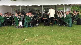 Wealden Brass at Nutley Fete 2017