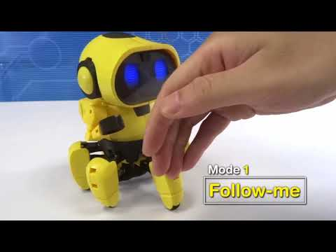 Youtube Video for Tobbie - Build an Interactive Robot
