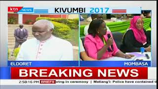 Bishop Cornelius Korir speaks of the situation in Eldoret after Presidential elections announcement