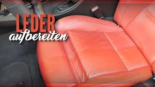 Auto Leder aufbereiten | Leder richtig reinigen und Leder pflegen