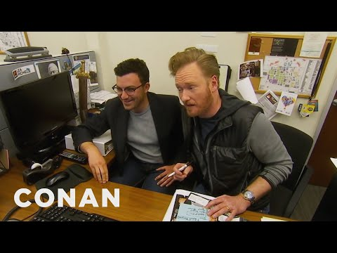 Conan Staffers' Parents Give Tips On Improving The Show - CONAN on TBS (видео)