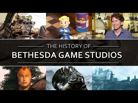 The History of Bethesda Game Studios
