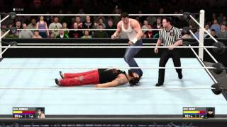 wwe-2k16-new-extended-gameplay-video-feat-dean-ambrose-vs-bray-wyatt