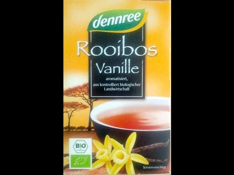 Rooibos Vanille - dennree (Tea Test)