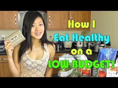 Video How I Eat Healthy on a Low Budget! (Cheap & Clean)