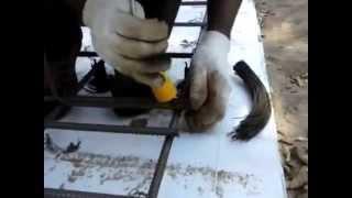 Как ставить лягушки. Готовый комплект для плиты (ГИБКААРМАТУРЫ.РФ)