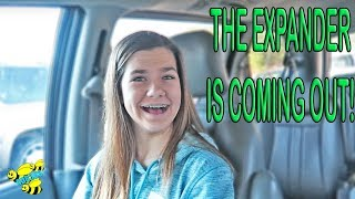 😃 GETTING AN EXPANDER OUT 😃 ~ BRACES UPDATE