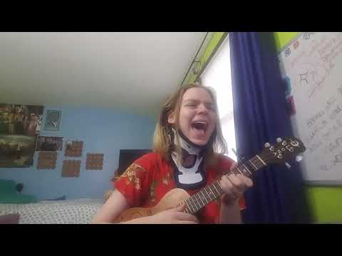 Too Late To Say Goodbye - Cage The Elephant - Ukulele Cover - Autumnskylarsings