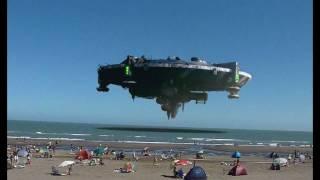 preview picture of video 'OVNI EN MONTE HERMOSO - AMAZING UFO ARGENTINA'