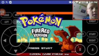 Pokemon fire red ep1 with cheats