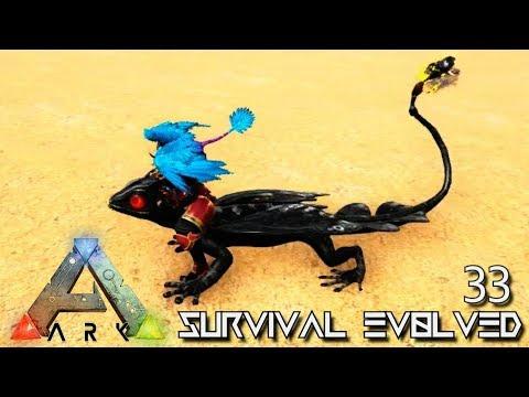 ARK: SURVIVAL EVOLVED — AMAZING DEMONIC GLOWTAIL! — PRIMAL