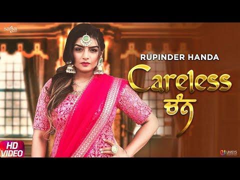 Careless Chann - Rupinder Handa | Official Song | Arpan Bawa | Latest Punjabi Song 2019 | Saga Music