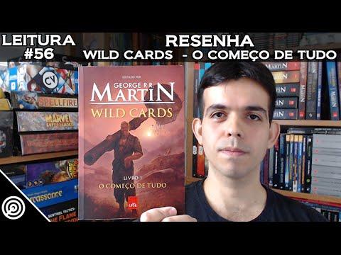 LEITURA #56 - WILD CARDS LIVRO 01 - O COMEÇO DE TUDO