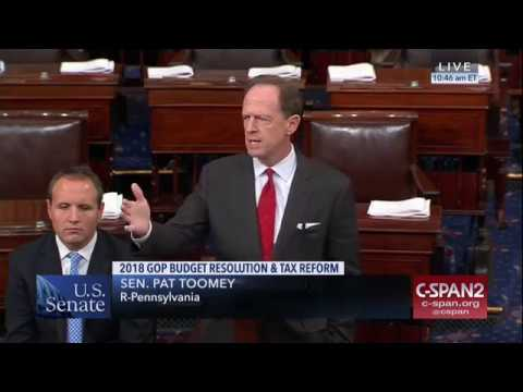 ICYMI: Senator Toomey on Why the Senate Needs to Pass the Budget Resolution