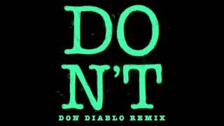 Ed Sheeran - Don't (Don Diablo Remix) High Quality Mp3