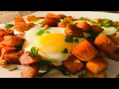 HOW TO MAKE SWEET POTATO AND EGGS | STORHANZ COOKING CHANNEL