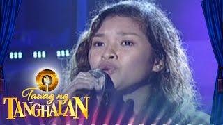 Tawag Ng Tanghalan: Alona Jane Albelar | All I Ask