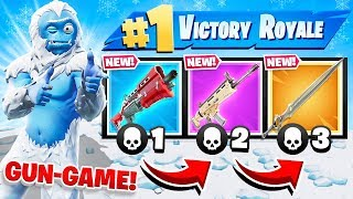 SWORD Gun GAME *NEW* Game Mode in Fortnite Battle Royale