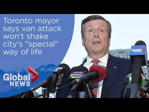 Toronto van attack: Mayor''s FULL address to city council following deadly attack