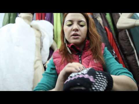 Перчатки-варежки вязанные W «Igloos». Видеообзор.