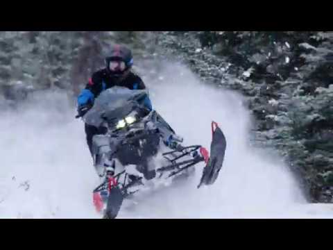 2021 Polaris 650 Switchback Assault 146 SC in Newport, Maine - Video 1