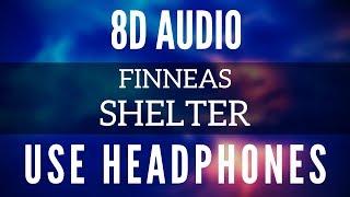 FINNEAS   Shelter (8D AUDIO)