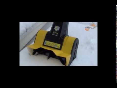 Texas ST1300, vollautomatische, elektrische Schneeschaufel