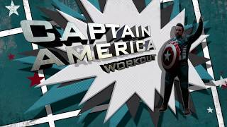 'AVENGERS TRAINING ACADEMY' - CAPTAIN AMERICA HIIT WORKOUT