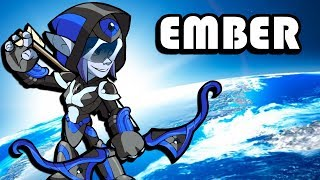 Ember Bow is BEST IN THE GAME • Brawlhalla Gameplay