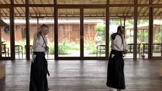 1ère partie kata jyo à deux