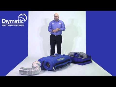 DBK Drymatic II Heat Drying Machine Tutorial